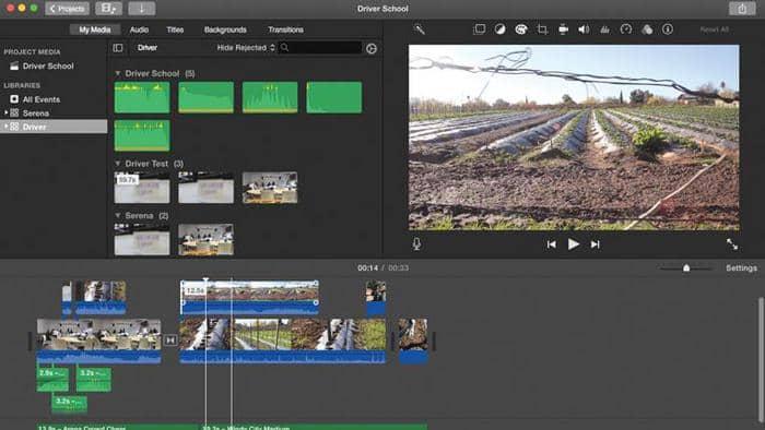 edit videos with imovie on mac