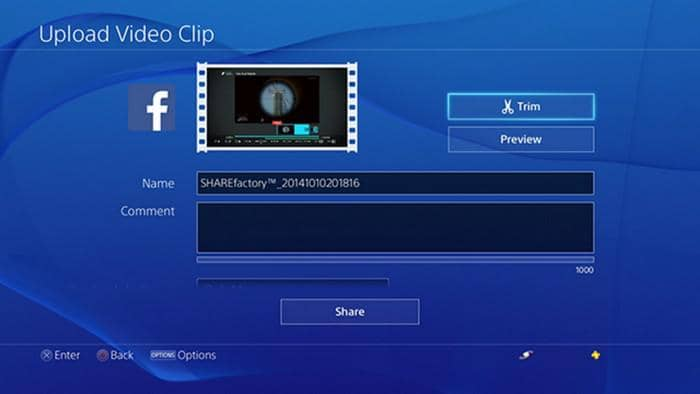 how to edit videos on ps4