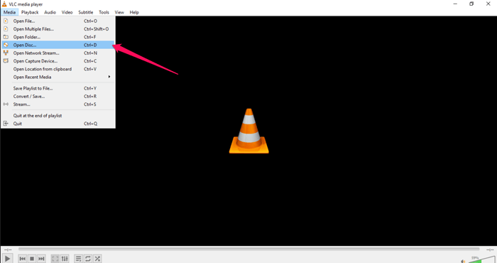 play dvd with vlc player