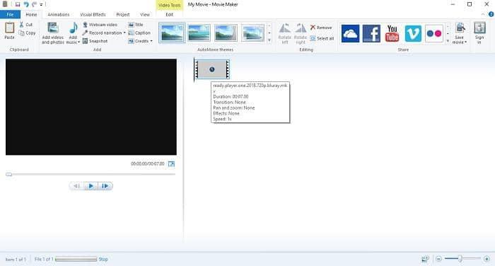 windows media player to handle vob files