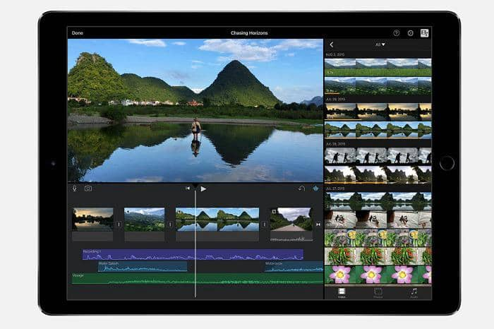 ipad video editing