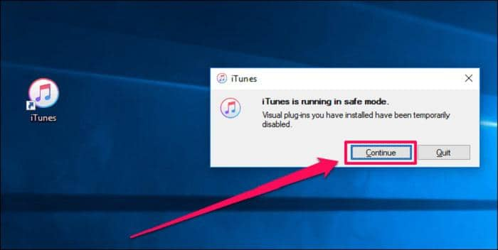 solution to itunes won't open