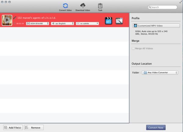 mac mp4 変換 無料