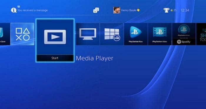 PS4 ブルーレイ 再生