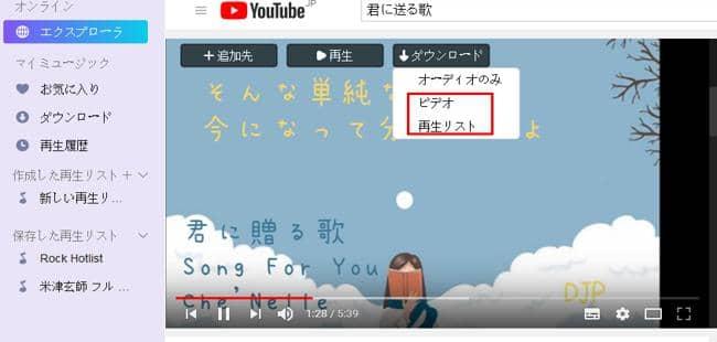 動画ダウンロードソフト11
