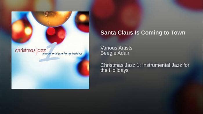 jazz christmas song
