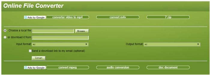 a popular tool for converting files from one format to another