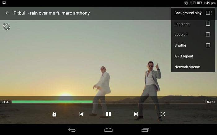 m4v player on android with many useful features