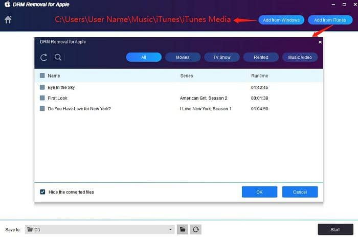 best software to remove the drm of m4v files