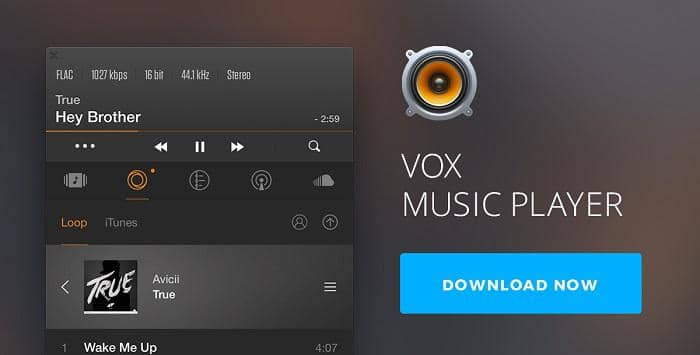 mac music player which supports for hi-res output