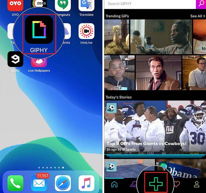 How to Make A GIF A Live Wallpaper iphone