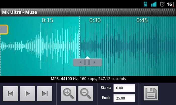 mp3 ringtone maker for android