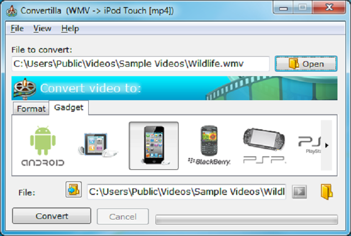 MP4  to MP3 File Converter