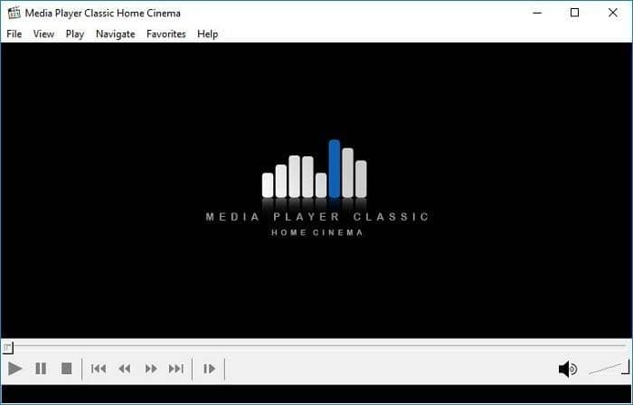 Media Player Classic is a simple to use player