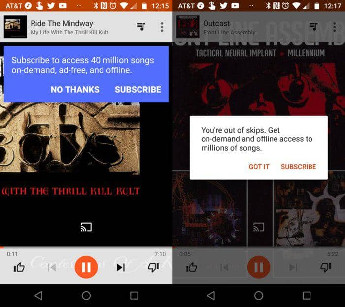 google play music is free on your android smartphone