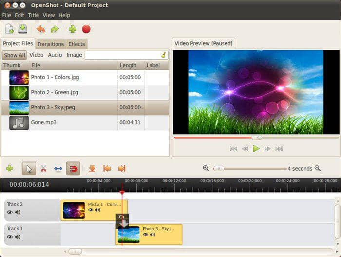 open source video editing software for windows
