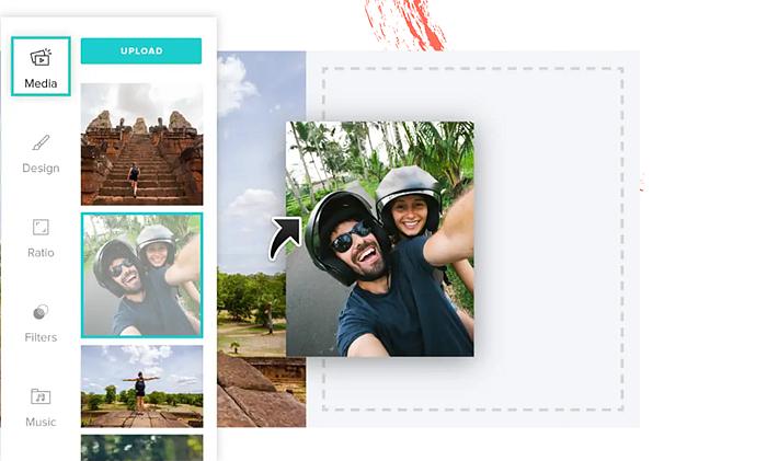 Convert photos to videos