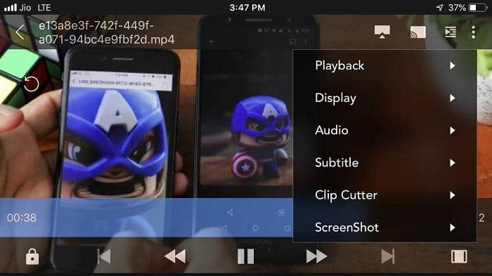 play mkv on iphone