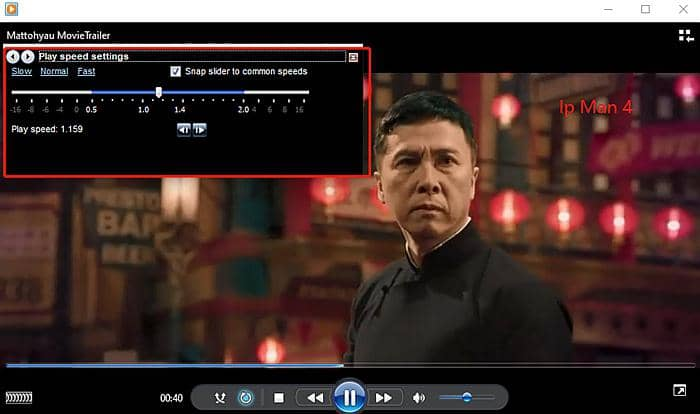 Speed up Video in Windows 10