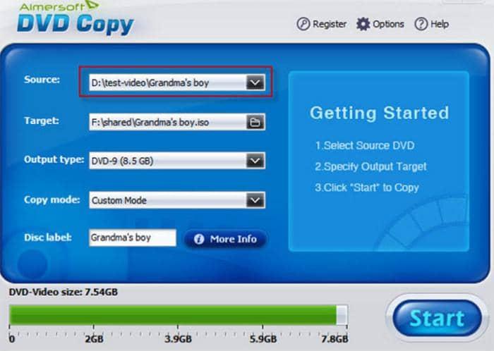 Copy DVD on Mac