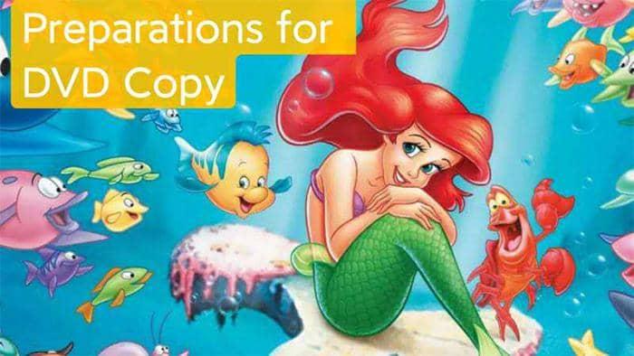 DVD Copy Preparations