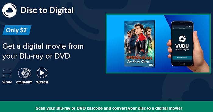 Best Vudu Disc to Digital App