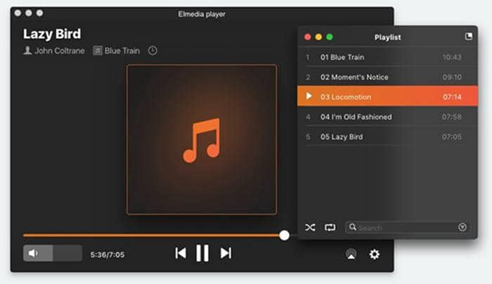 a media player for Mac OS