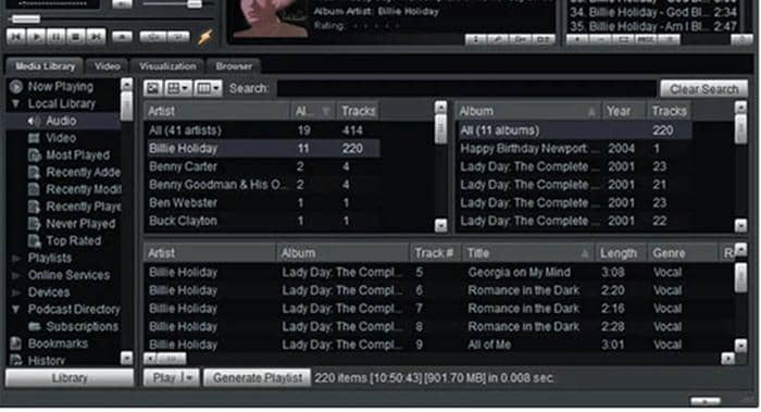winamp music player is one of the best wav player for mac