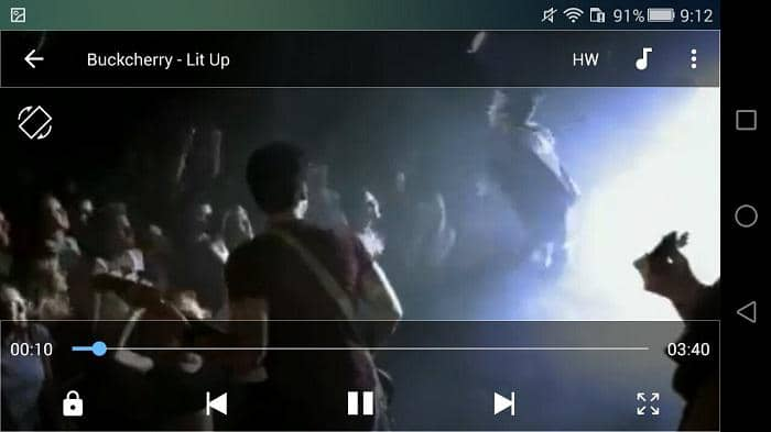 android wmv player
