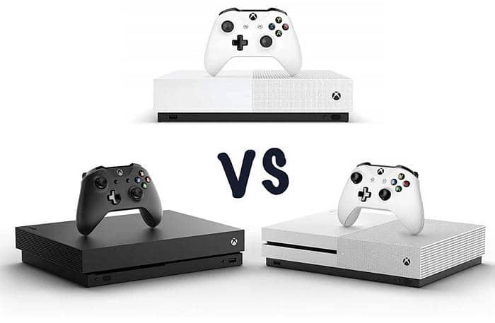 Xbox One S vs Xbox One vs Xbox One X