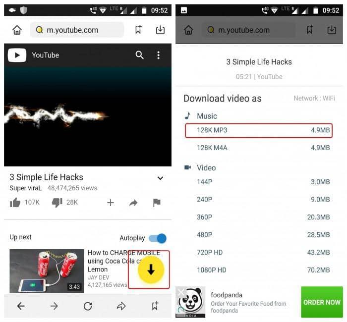 Snaptube YouTube Downloader app