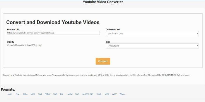 youtube to avi converter
