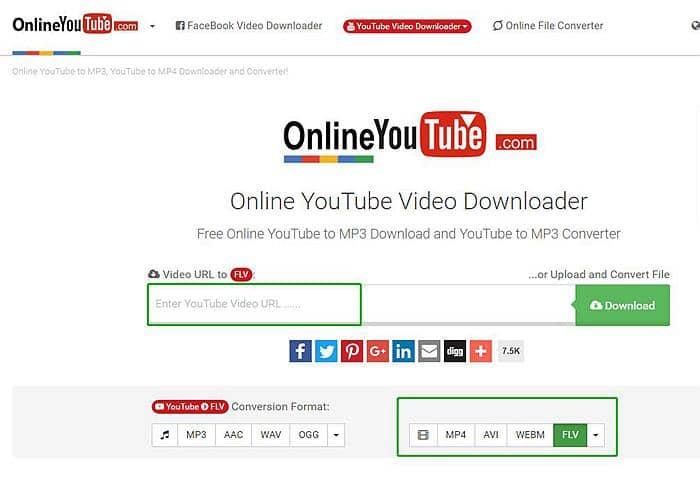 youtube to flv