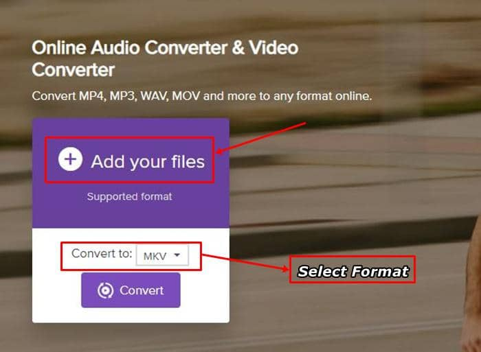 convert youtube to mkv