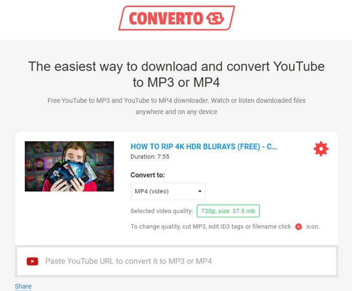 YouTube to MP4 Converter Online and Downloader App