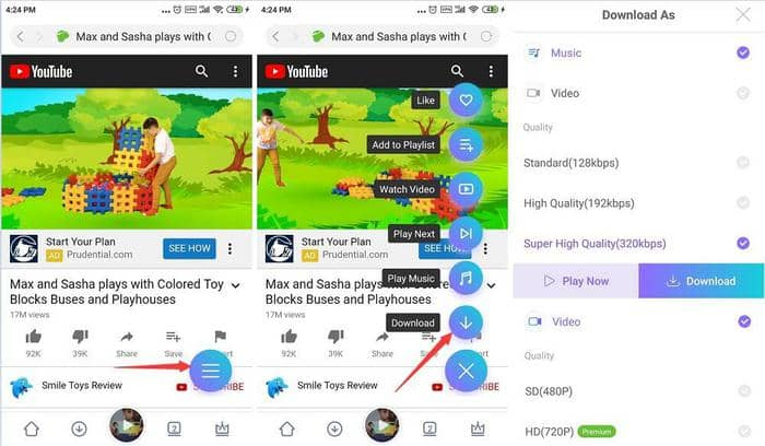 Download youtube video to mp3
