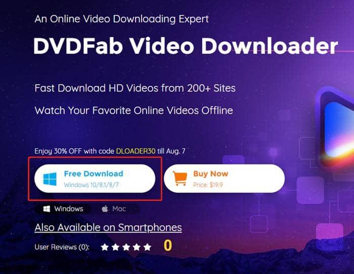 DVDFab Video Downloader installer