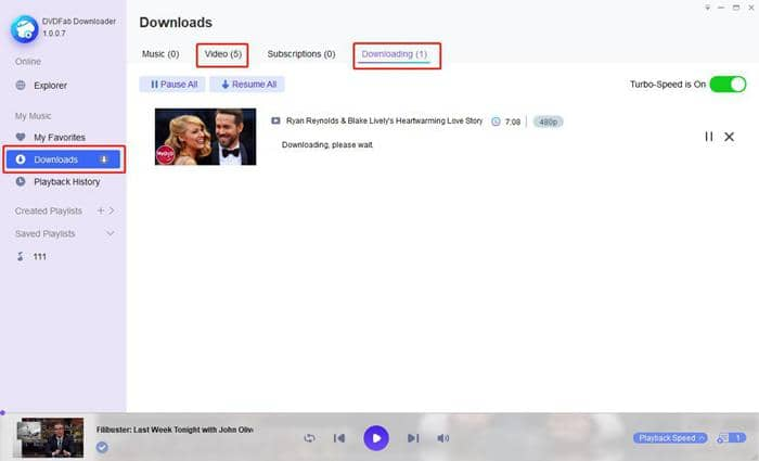 Check the dailymotion video downloading process
