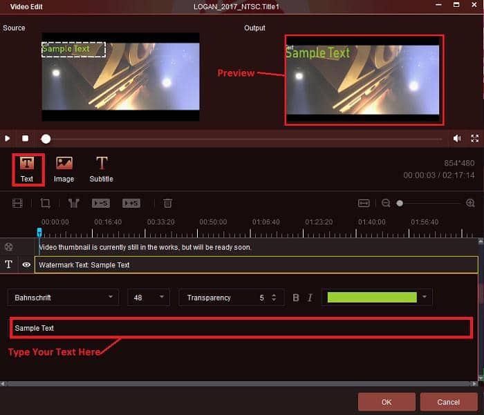 how to add text watermarks on the best dvd ripper software