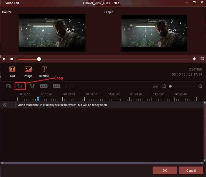 how to use the cropping tool of the best dvd ripper app