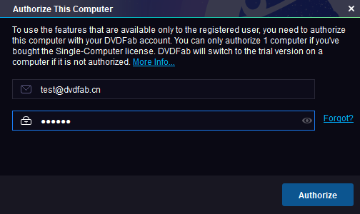 authorize your computer before using the best dvd ripper