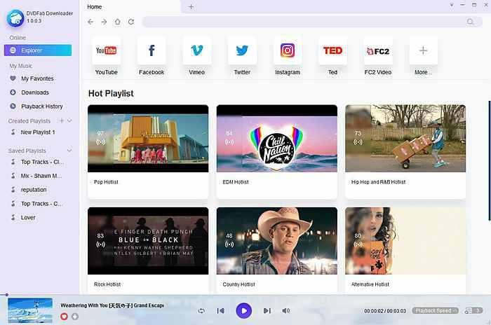 DVDFab Video Downloader 12.0.0.8 With Crack 2021