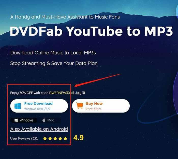 How To Download Youtube To Mp3 With Dvdfab Youtube To Mp3