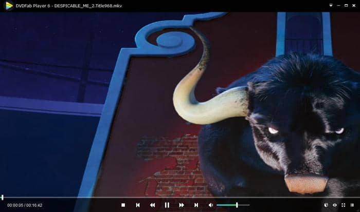 play movie with simple playback mode