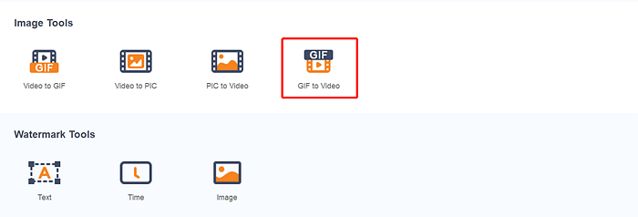 How to save a gif as a video