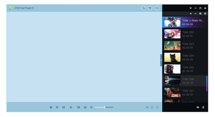 play blu-ray with powerful movie playlist creation function