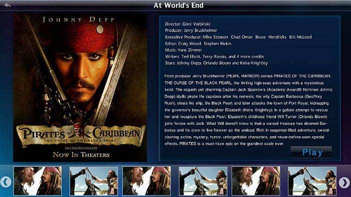 Simple Mode to play DVD/Blu-ray/4K UHD Blu-ray videos
